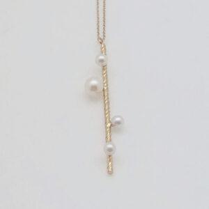 Collier 4 perles