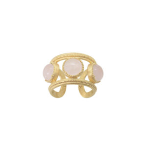 Bague Aphrodite quartz rose