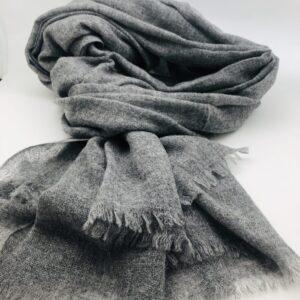 Echarpe/Etole cachemire gris