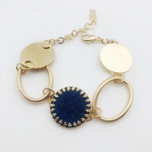 bracelet art déco lapis