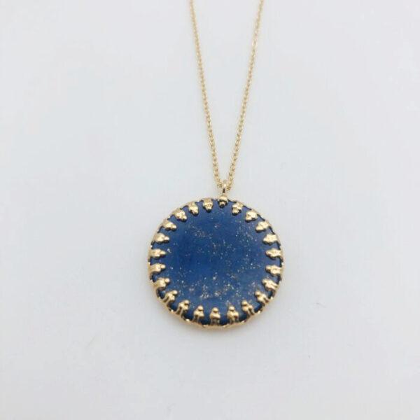 Sautoir duchesse pierre lapis lazuli