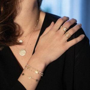 bracelet Olympe en émail