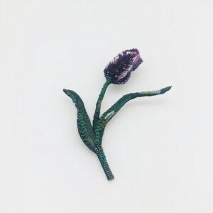 Broche Tulipe Fermée
