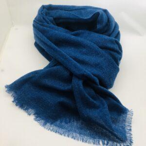 Echarpe cachemire Olympia blue
